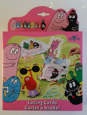 Barbapapa Lacing Cards