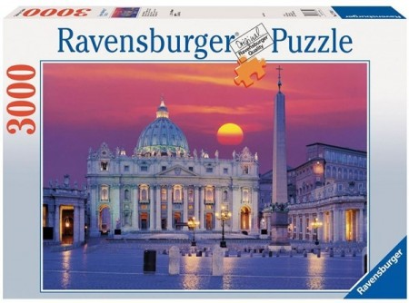 Ravensburger puslespill -  St. Peters Cathedral 3000
