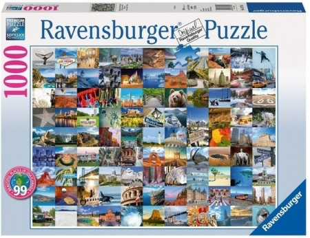 Ravensburger puslespill -  Beautiful Places 1000
