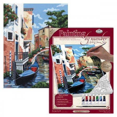 Paint by numbers - Venetian Scene