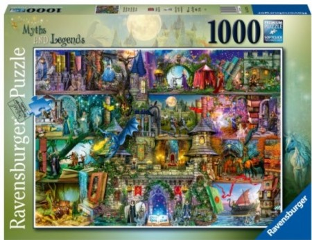 Ravensburger puslespill -  Myths and Legends 1000