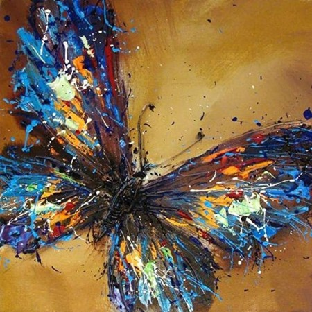 Paint by numbers - Butterfly 40x50cm