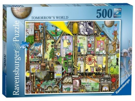 Ravensburger puslespill - Tomorrow`s world 500
