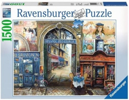 Ravensburger puslespill - Passage in Paris 1500