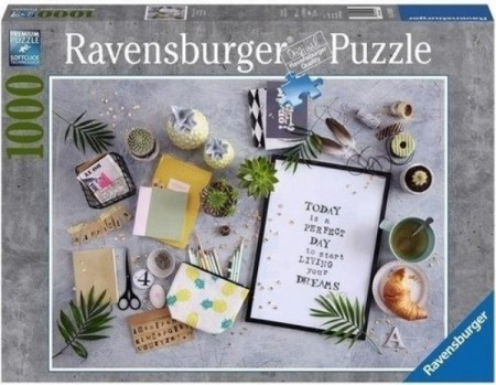 Ravensburger puslespill - Living Your Dream 1000