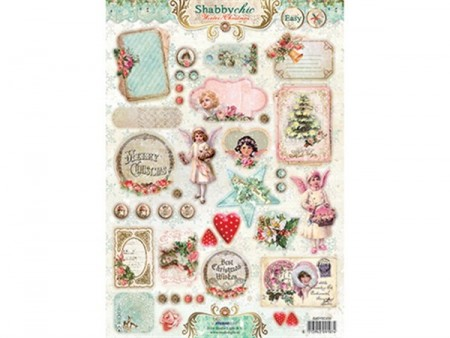 Studiolight utstanset - Shabby Chic Christmas 434