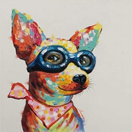 Diamond painting  - Cute Dog 30x30 cm