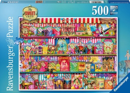 Ravensburger puslespill -  The sweet shop 500