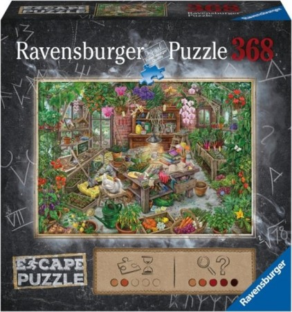 Ravensburger puslespill - Escape the greenhouse 368