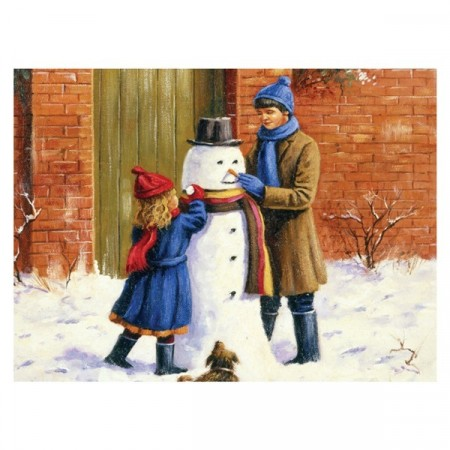 Paint By Numbers - The Snowman
