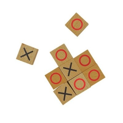 Wooden Games Workshop - Noughts & Crosses - 3 på rad