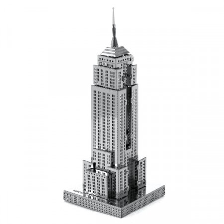 Puslespill 3D metall - Empire state building