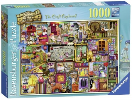 Ravensburger puslespill - The craft cupboard 1000