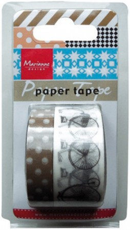 Marianne Design – Paper tape – Bicycles