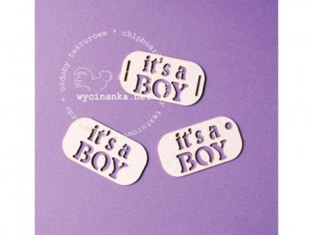 Chipboards - It´s a Boy - 3 pakk