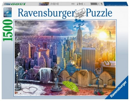 Ravensburger puslespill - Seasons of New York 1500