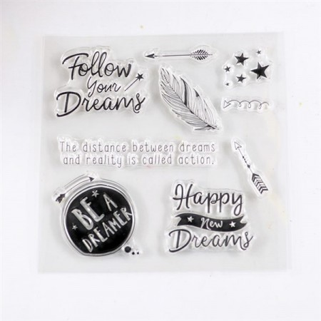Stempel - Clear stamp - Dreamer