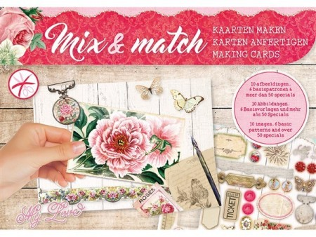 Studiolight Mix & Match Making Cards A5 – My love