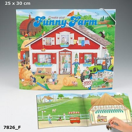 Funny Farm stickers album
