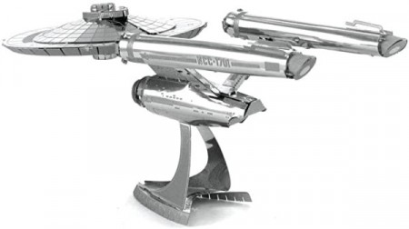 Puslespill 3D metall - STAR TREK - USS ENTERPRICE - NNC-1701