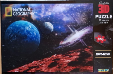 Puslespill 3D - National Geographic Space 2- 500