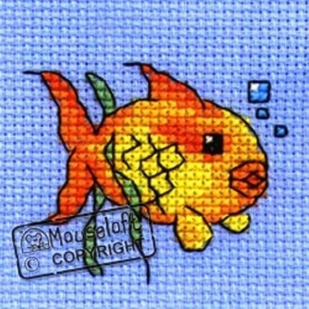 Mini korssting - Goldfish