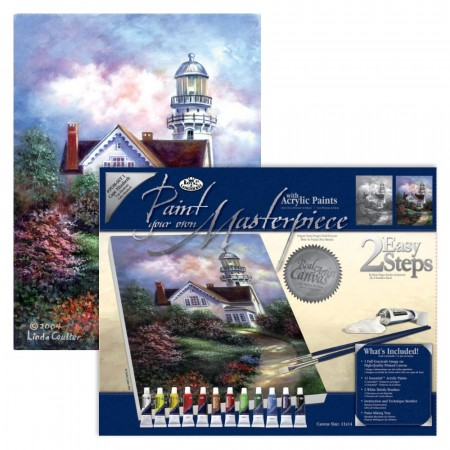 Paint By Numbers - Cape Elizabeth