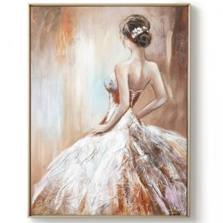 Diamond painting  - Ballet Woman (2) 30x40 cm