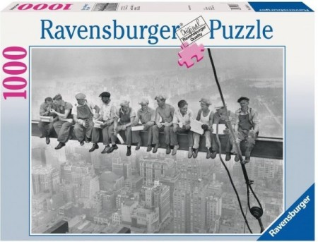 Ravensburger puslespill - Lunchtime 1000