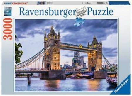 Ravensburger puslespill - London 3000