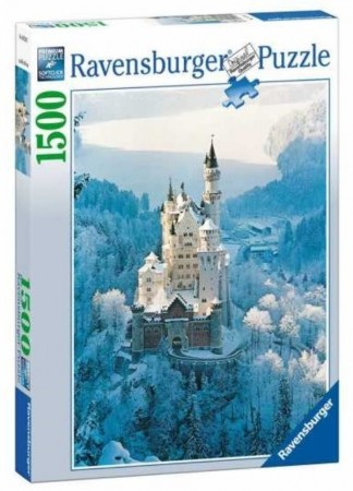 Ravensburger puslespill - Neuschwanstein castle in winter 1500