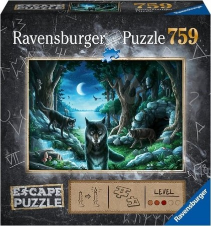 Ravensburger puslespill - Escape - Curse of the Wolves 759