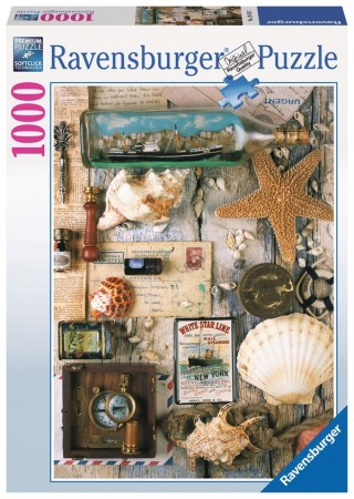 Ravensburger puslespill - Maritime collection 1000