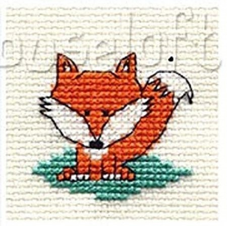 Mini korssting - Fox