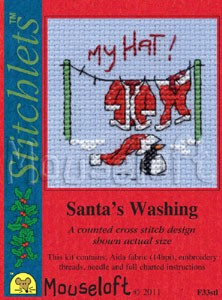 Mini korssting - Santa´s Washing