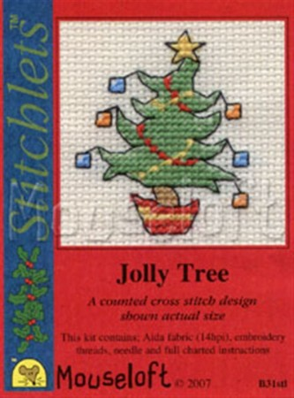 Mini korssting - Jolly Tree
