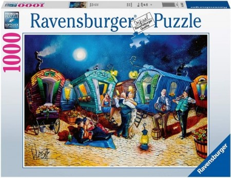 Ravensburger puslespill -  After  Party 1000