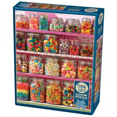 Cobble Hill puslespill - Candy shelf  500