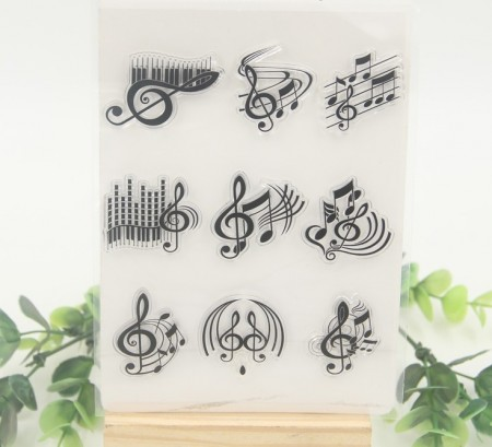 Stempel - Clear stamp - Noter