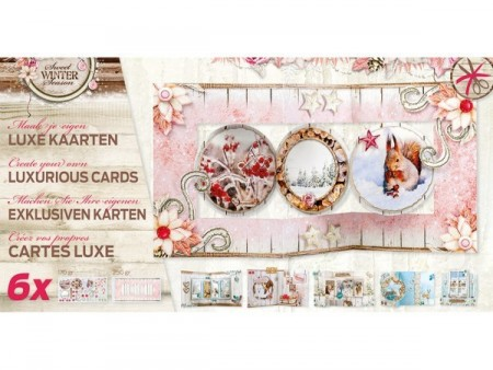 Studiolight Luxurious Cards x6 – Sweet Winter Season