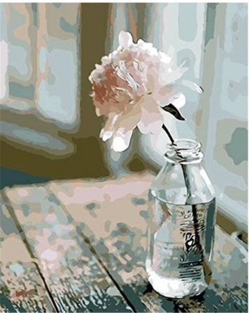 Paint By Numbers - Flower in Bottle 40x50cm