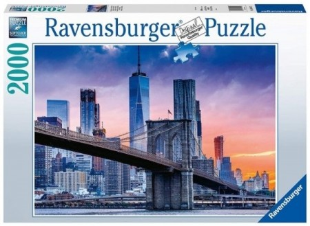 Ravensburger puslespill - New York Skyline 2000