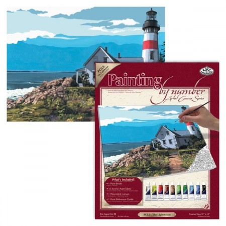 Paint by numbers - The Lighthouse
