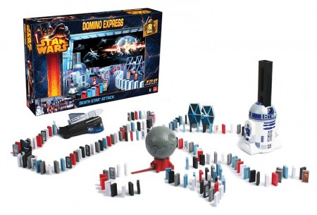 Domino Express - Star Wars Deathstar attack