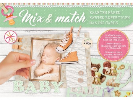 Studiolight Mix & Match Making Cards A5 – Baby