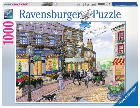 Ravensburger puslespill -  Wedding shop 1000