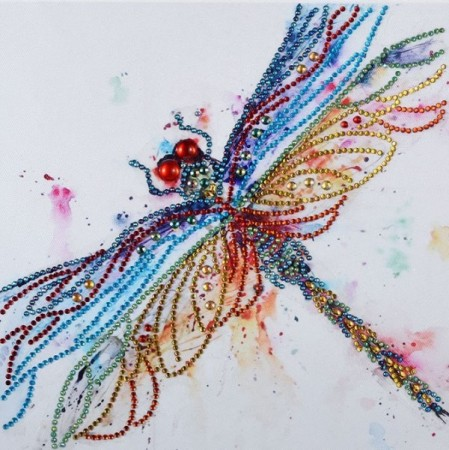 Diamond Painting - Dragonfly 30x30cm