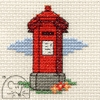 Mini korssting - Red Pillar Box