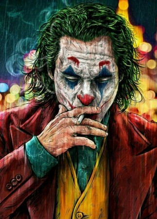 Paint By Numbers - Joker 40x50cm