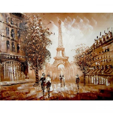 Paint by numbers - Romantiske Paris 40x50cm